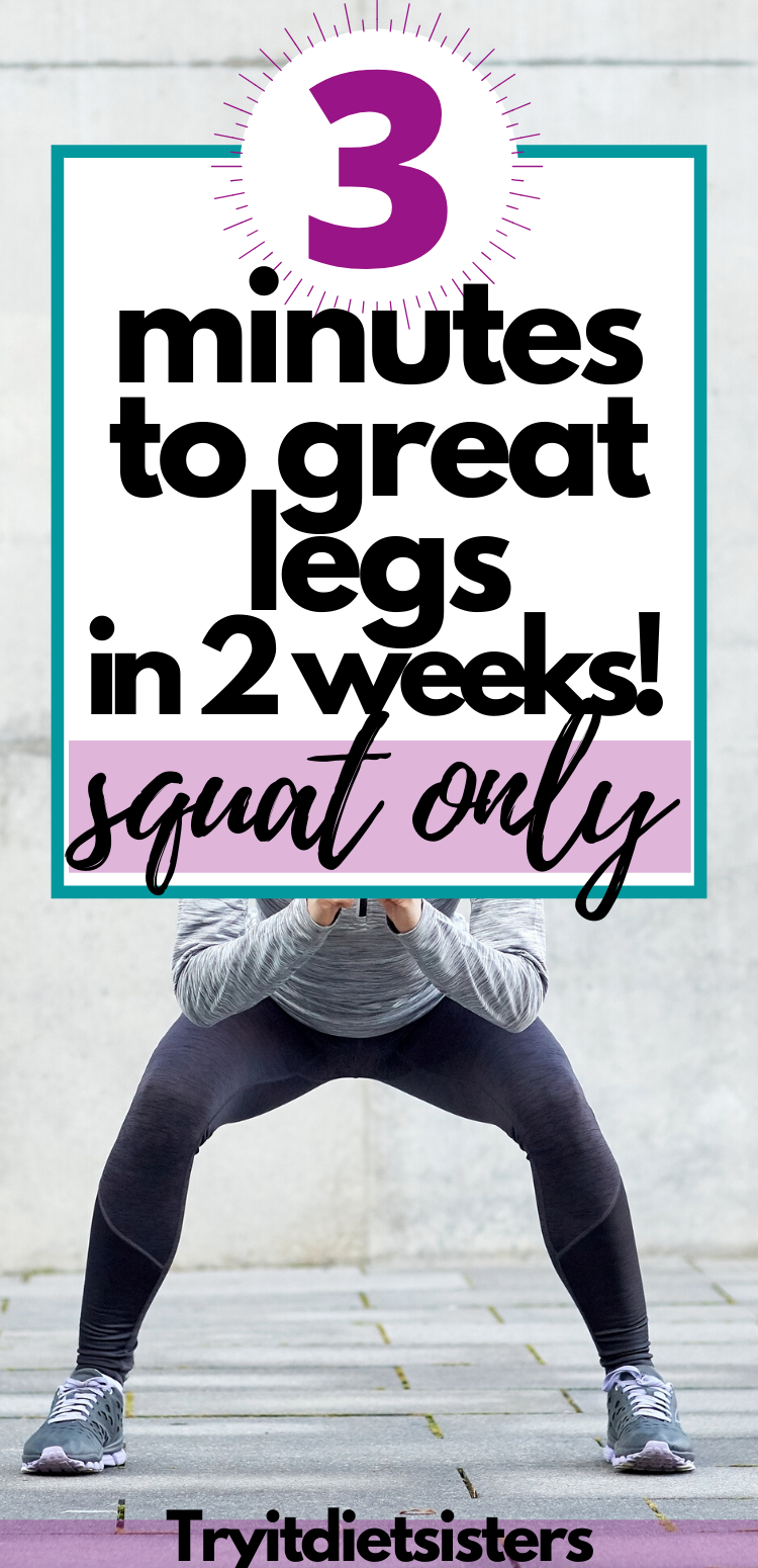 2 week Squat Challenge easy and it works! Try it Diet