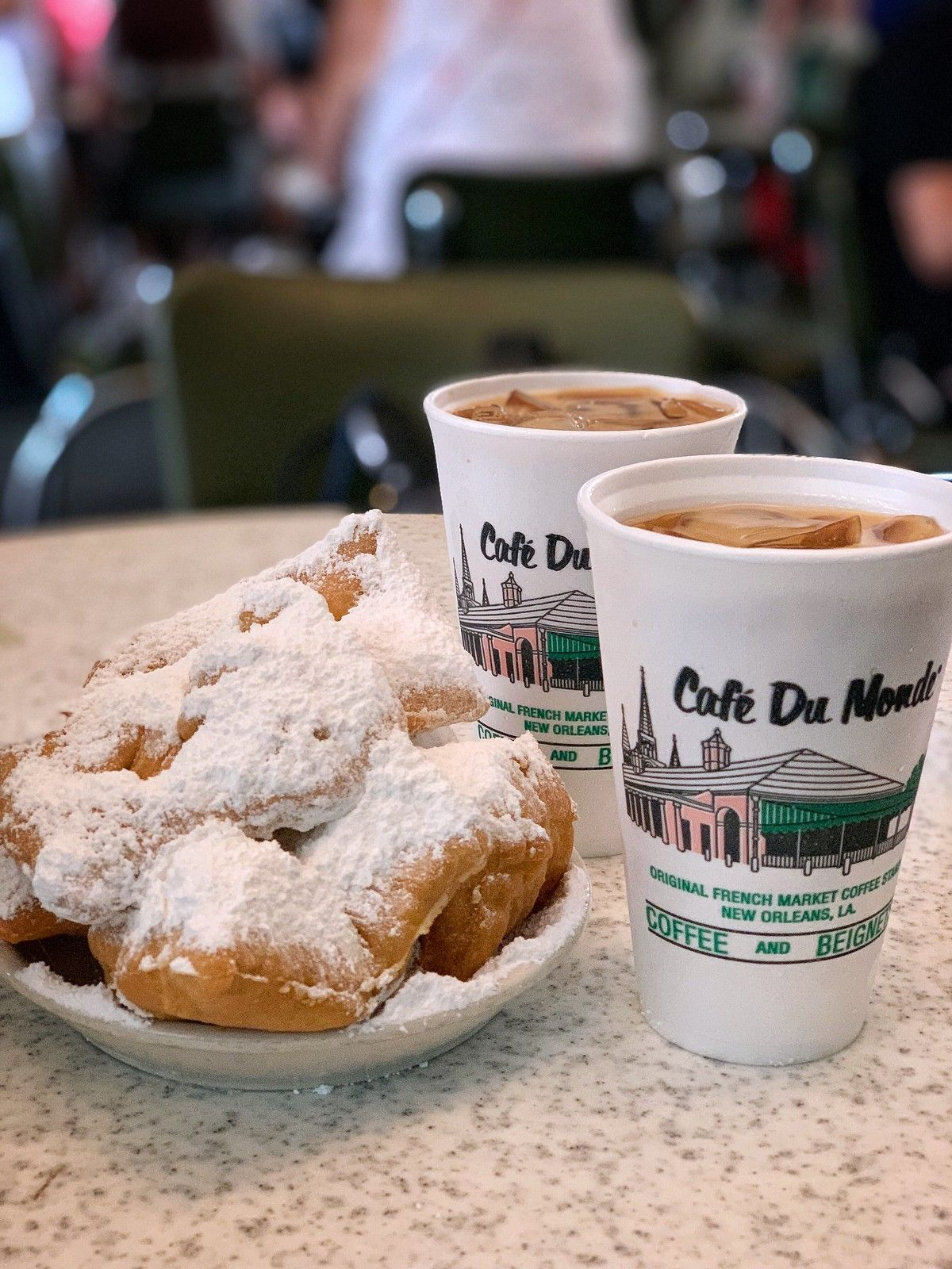 The lines are always long for this. It's like a do it once kinda deal. The beignets are good. Their coffee is supposed to be good.