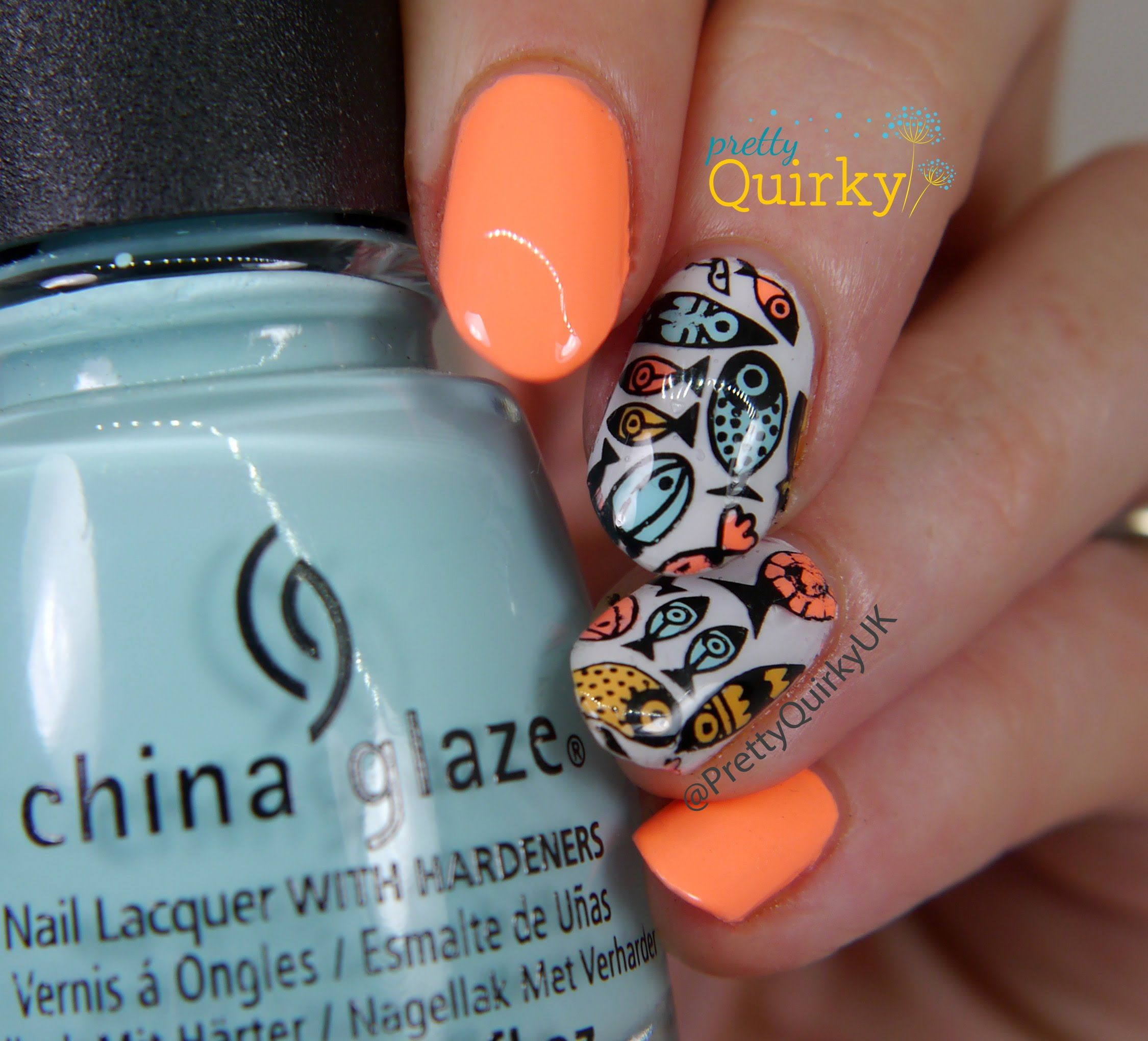 Nail Art Tutorial Nautical Nail Art Using Cuccio: A Quick Video Tutorial Showing How To Make Your Own