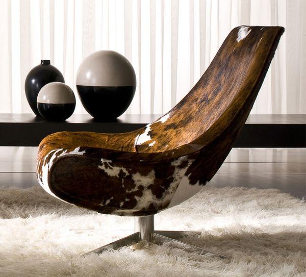 Furniture Designs Creativity Chairs Amazing Chaise En Peau De