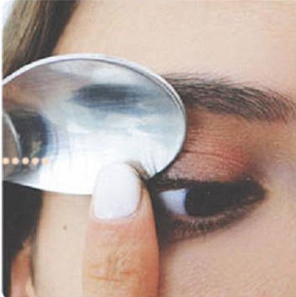 Cuchara Rizar Pestañas Makeup Trucos De Maquillaje