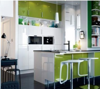 cuisine ikea amnagee dans petit espace