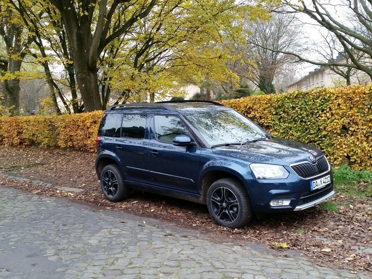 Skoda Yeti 4x4 Elegance Im Familiencheck Skoda Gebrauchtwagen