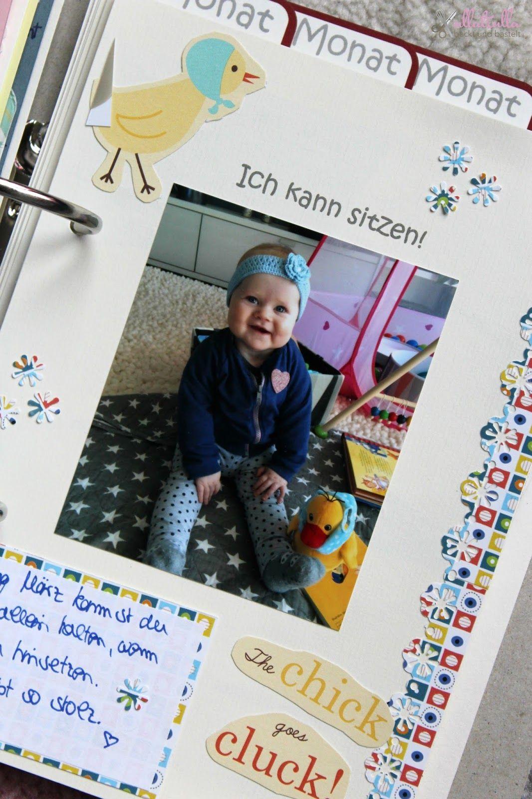 Ullatrulla backt und bastelt diy babyalbum selber gestalten gewinnspiel geschlossen - Fotoalbum ideen ...