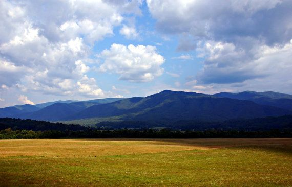 Instant Download Cades Cove Picture- Mountains – Wallpaper or Background – Printable