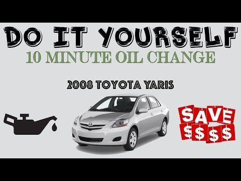 10 minute diy car oil change saves you money 2008 toyota yaris 10 minute diy car oil change saves you money 2008 toyota yaris youtube solutioingenieria Gallery