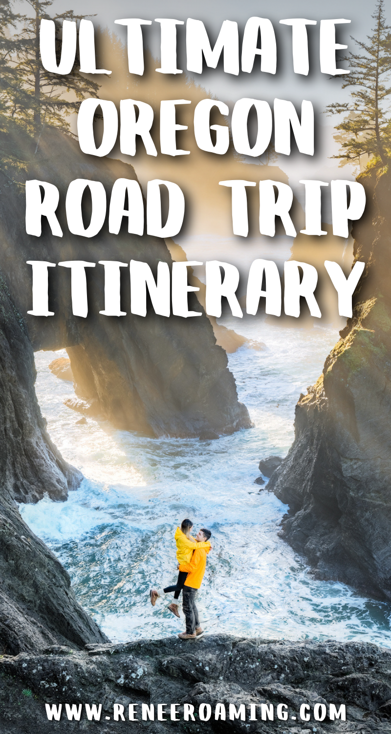 Oregon is one of my favorite road trip destinations. It is home to some of the most beautiful coastline, mountains, waterfalls, lakes, and hot springs in the United States! To help you explore it for yourself, I've put together a comprehensive Oregon 7 day road trip itinerary. You will also find optional add-on's in case you want to extend your trip, a packing guide, my top road trip tips, and more! | Oregon road trip itinerary | Oregon road trip guide | Oregon itinerary | Oregon tra