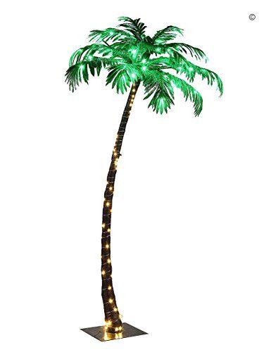 Lightshare Lighted Palm Tree, Small Lightshare Jude\u0027s Kirby room