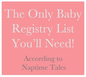 Baby Registry List. Iu0027ll Probably Just Print This And Take It Straight To  Target With Me.