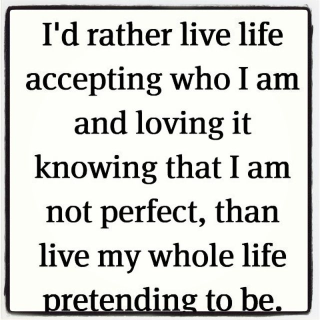 I am me. :))