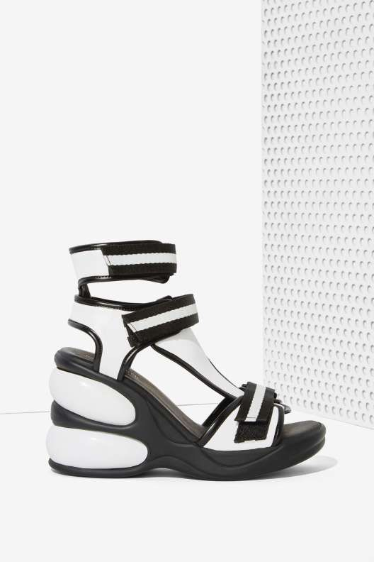 e7abc13dc53 Jeffrey Campbell Walk Tall Leather Sandal - Sandals