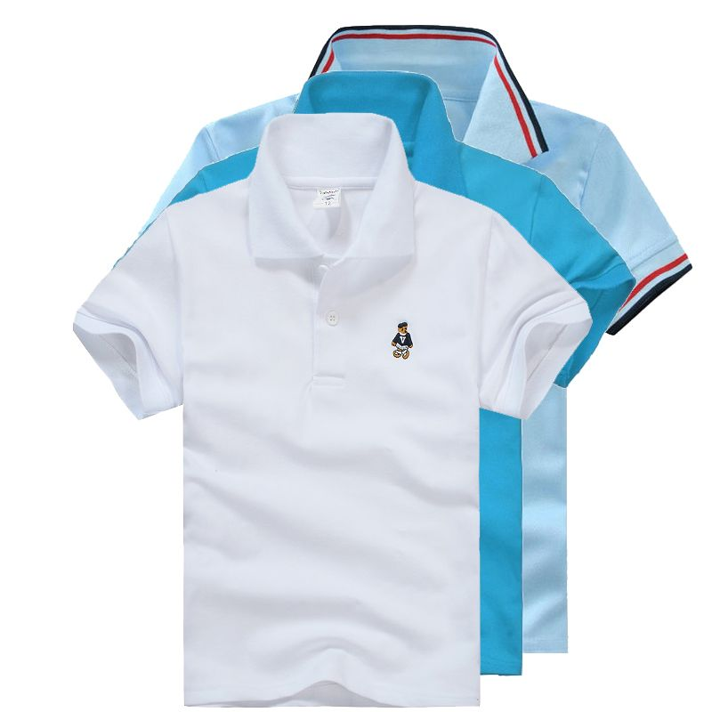 Unisex Boys Girls Polo Shirts For Kids Needtobuy Co Free Shipping Boys Summer Outfits Polo Shirt Girl Toddler Boy Summer Outfits