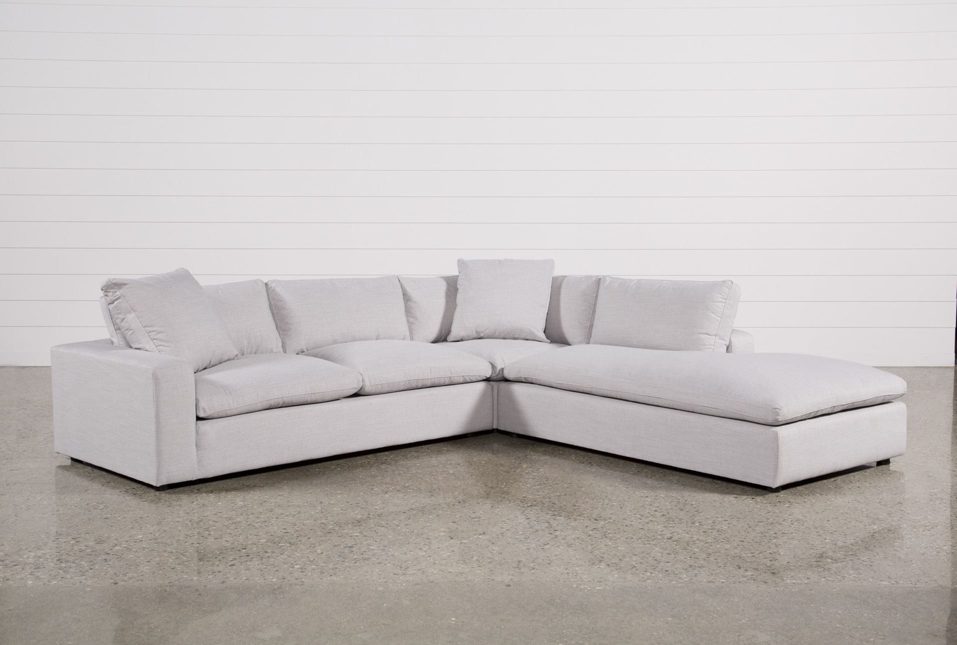 Haven 3 Piece Sectional Grey Sofas