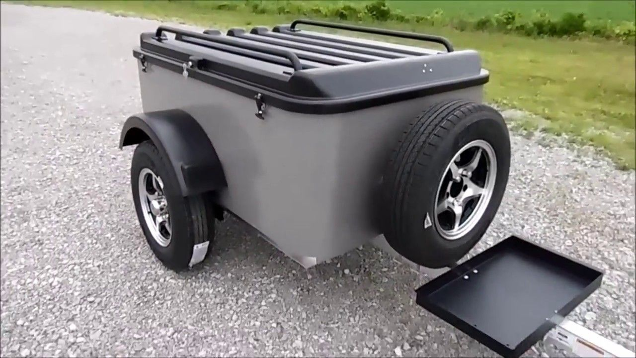 Inexpensive Small Cargo Trailer Walkthrough Vacationer