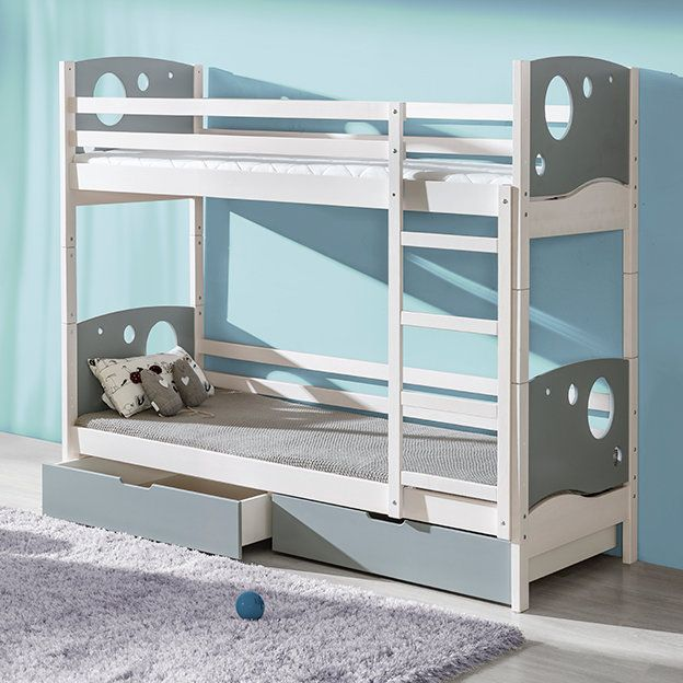 Best Mckenney Panel Bunk Bed Bunk Beds Toddler Bunk Beds 640 x 480