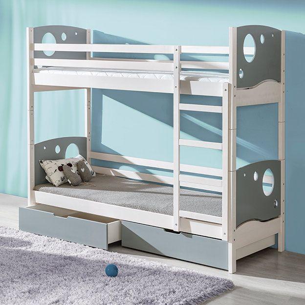 Best Mckenney Panel Bunk Bed Bunk Beds Toddler Bunk Beds 400 x 300