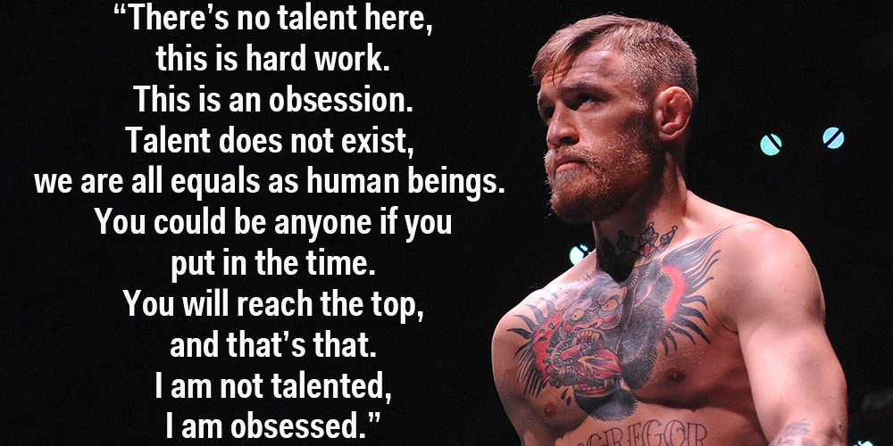 Ufc Champion Conor Mcgregor Has A Great Perspective On What It Takes