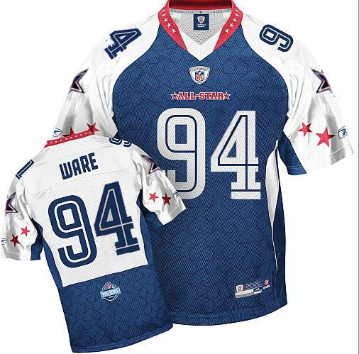 timeless design 15783 549d6 DeMarcus Ware Jersey, #94 Dallas Cowboys Authentic NFL 2009 ...