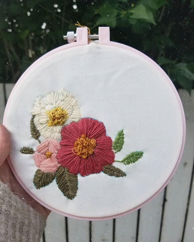 My First Kinda Attempt At Embroidering Vs Cross Stitching I