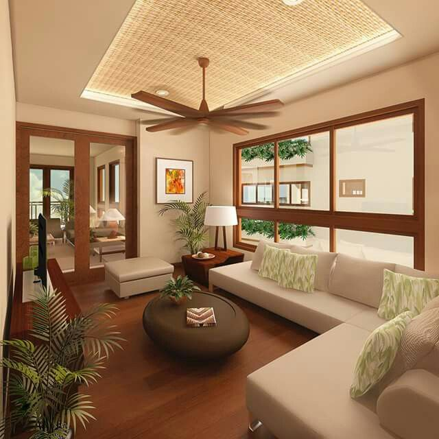 Ceiling Design Ideas In Philippines: This Living Room Has Very Clean Lines. I Love The Window