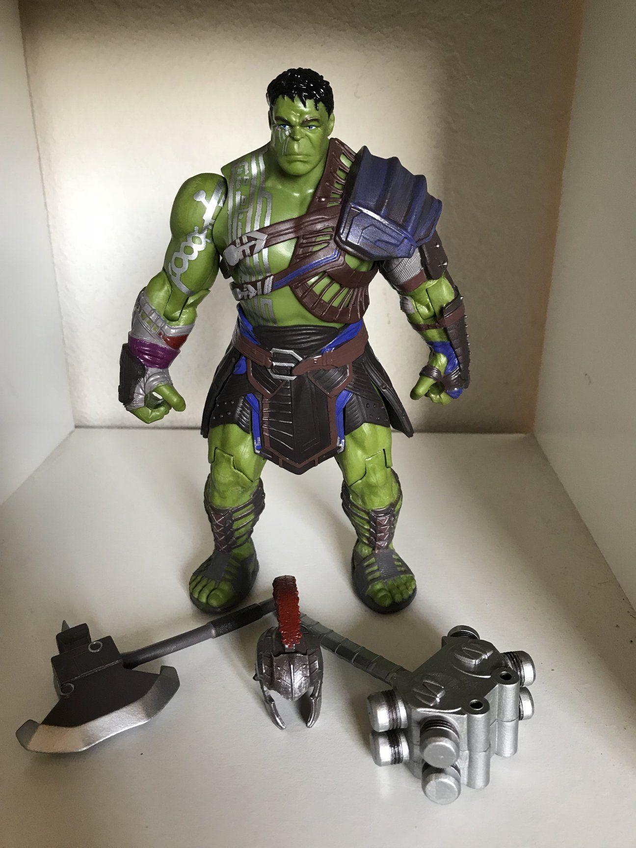 MOVIE VERSION ~ Thor Ragnarok Marvel Select ~ GLADIATOR HULK ACTION FIGURE