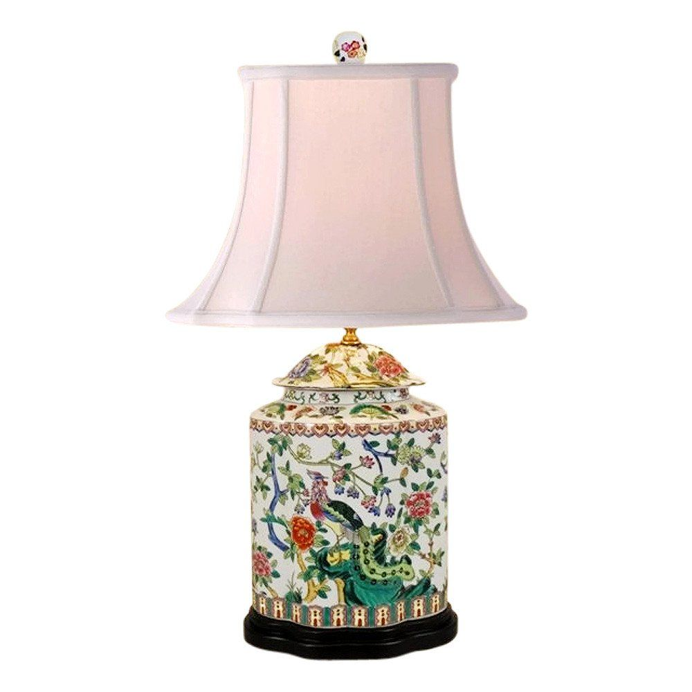 Beautiful chinese porcelain scallop ginger jar table lamp bird beautiful chinese porcelain scallop ginger jar table lamp bird floral motif 27 reviewsmspy