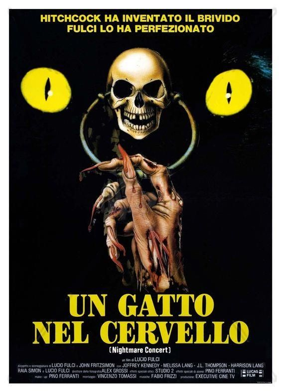 A Cat in the Brain (1990) (Italy)