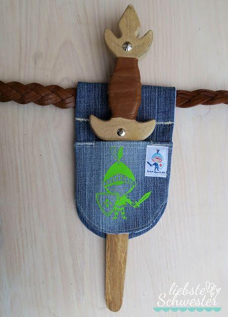 un porte-épée pour les petits chevaliers   – ranwachsen: Kostüm