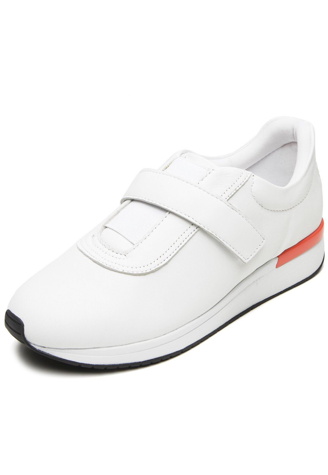 Tênis Usaflex Couro Branco