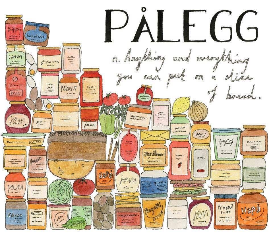 Palegg, breadable