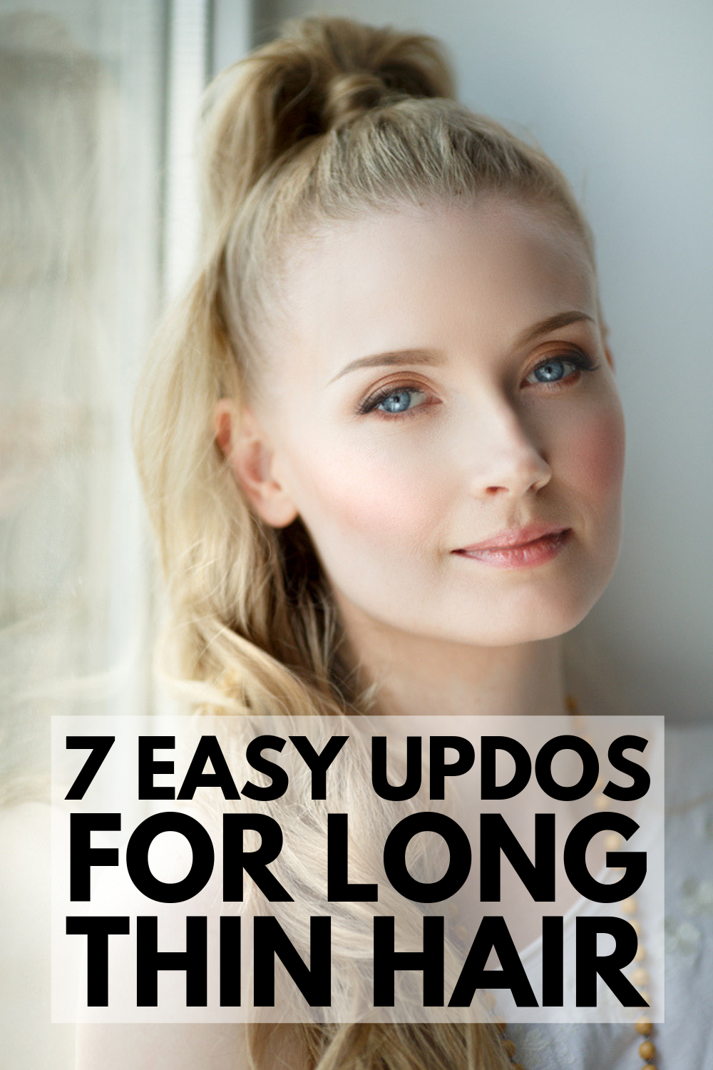Quick & Elegant: 23 Step-by-Step Updos for Thin Hair ...
