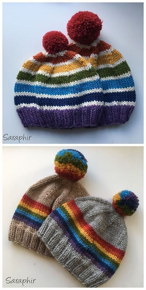 39+ Trendy knitting baby hats tricot Hello! I came up with ...