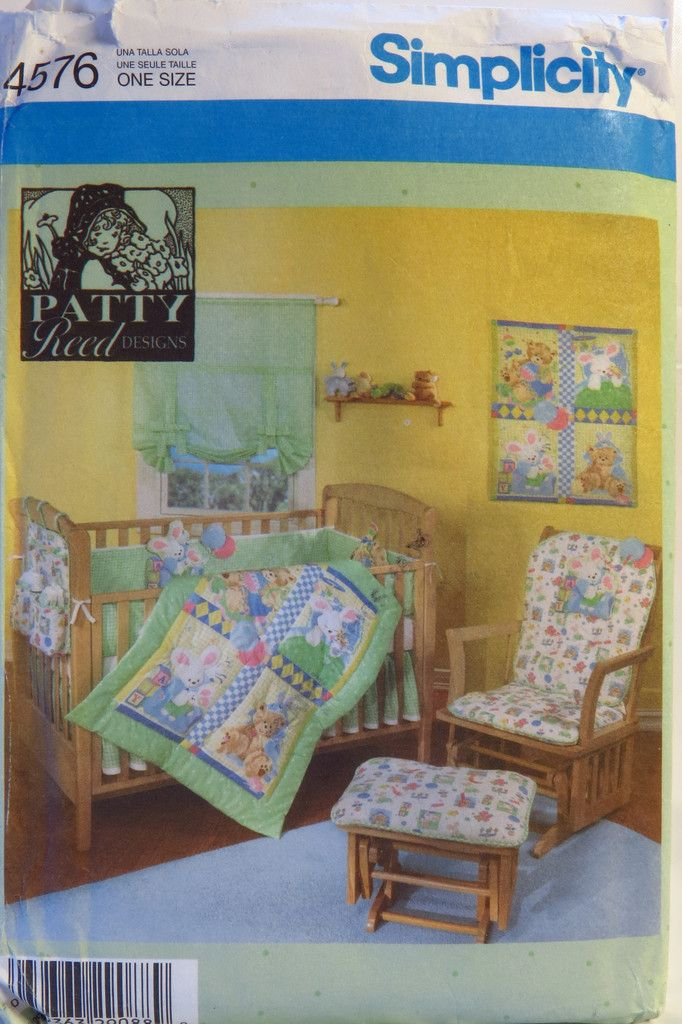 Simplicity 4576 Babies Nursery Accessories | Home Decorating Sewing ...