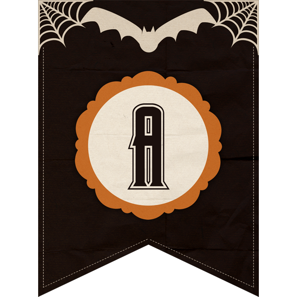 Free Printable Halloween Banner Set The Cottage Market Halloween Banner Happy Halloween Banner Halloween Party Packs