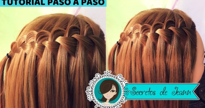 💙COMO HACER TRENZA CASCADA PASO A PASO💙 Secretos de Jeann | Alexey.es