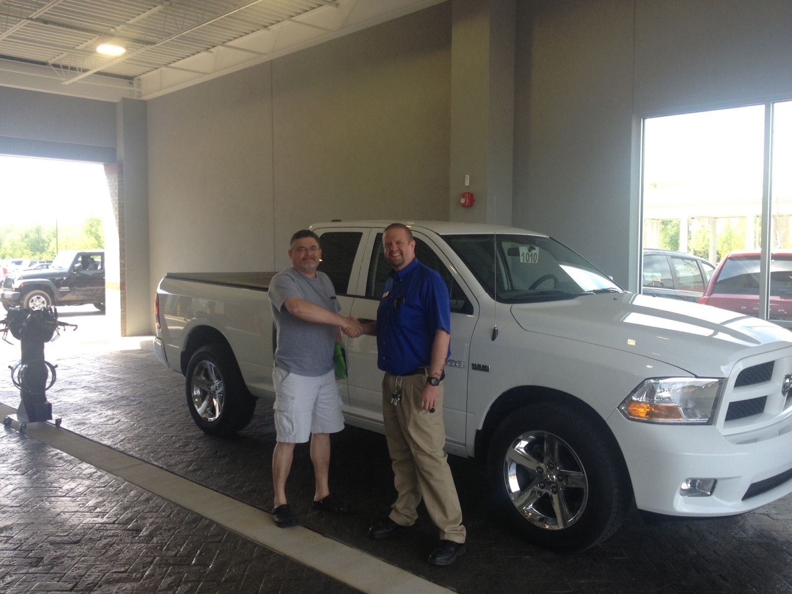 Kevin Hall With Chad At Collierville Chrysler Dodge Jeep Ram