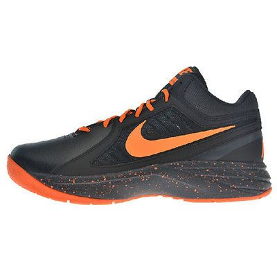 705f1fc17aae Nike The Overplay VIII Mens 637382-021 Black Orange Basketball Shoes Size  8.5