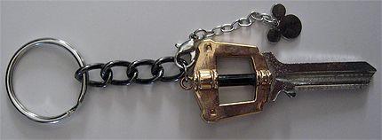 Kingdom Hearts Keyblade blank.