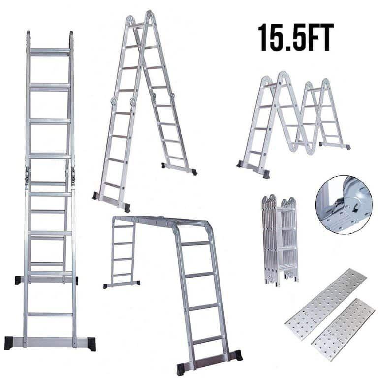 Idealchoiceproduct Multi Use Ladder Folding Ladder Aluminium Ladder Ladder
