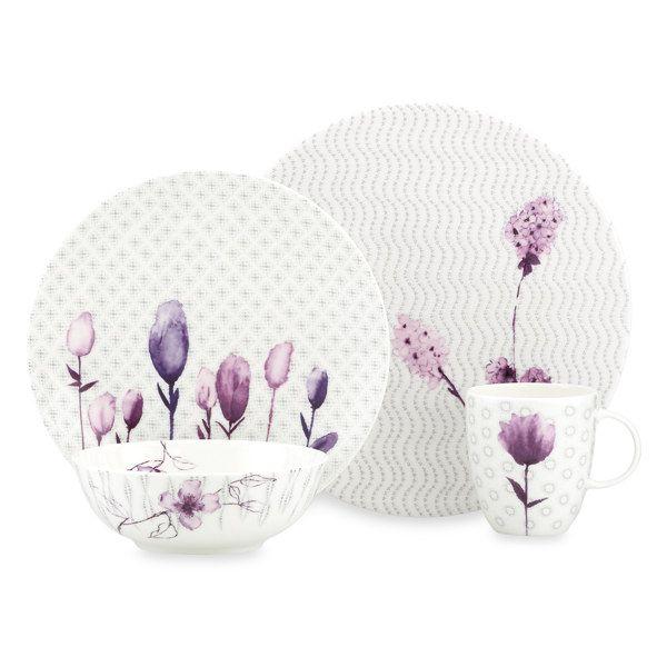 Lenox® Simply Fine™ Amethyst Watercolor Dinnerware - Bed Bath & Beyond