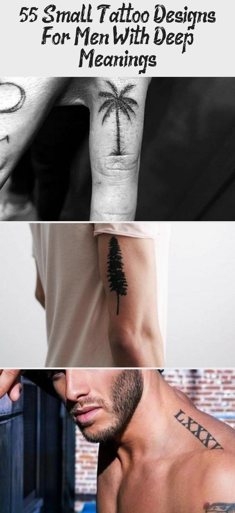 Photo of Kleine Tattoo Designs für Männer mit tiefer Bedeutung #tattooideenAnker #tattooideenPf …