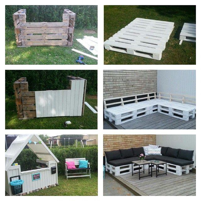 soffa av lastpallar med ryggstöd Sök på Google Trädgård Pinterest Sök, Google och Idéer