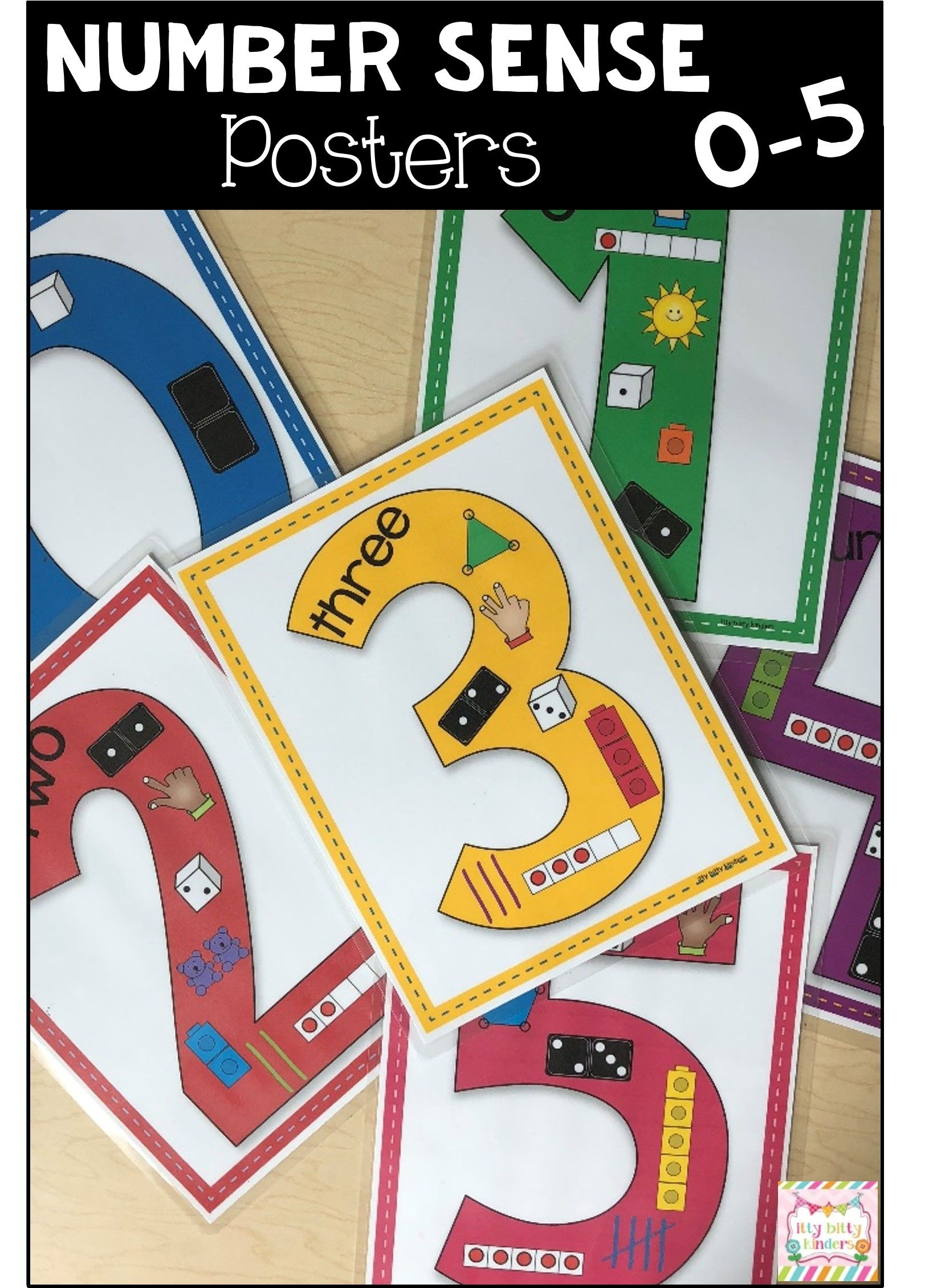 Number Sense Numbers 0 5 Counting Math Centers Back To