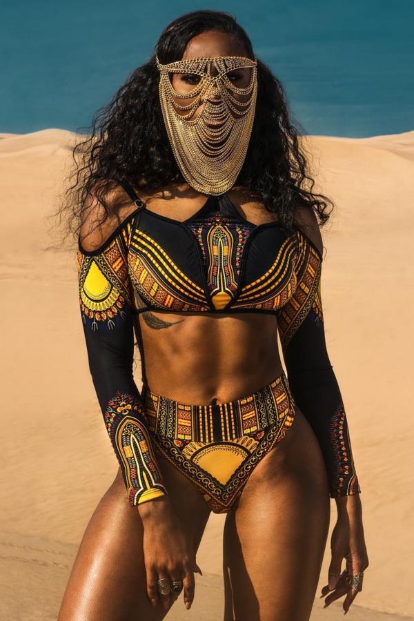 These Black Swimwear Designers Have Everything You Need For Summer African Swimwear Black Swimwear Black Beauties