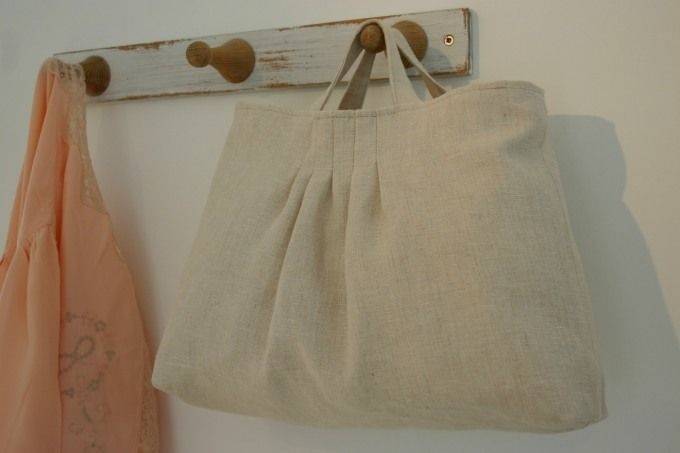 Agnes Coy pintuck bag
