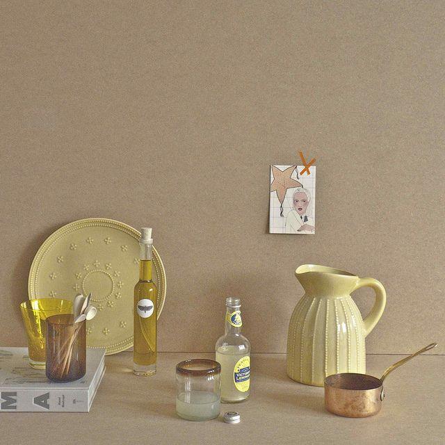 Yellow setting: styling   by marlies janse