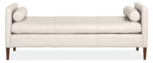 Beautiful Kent Leather Studio Sofa U0026 Chaise   Chaises U0026 Studio Sofas   Living   Room U0026