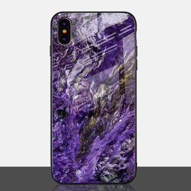 Cool Marble Phone Case for iPhone X Xs Max XR in 2020