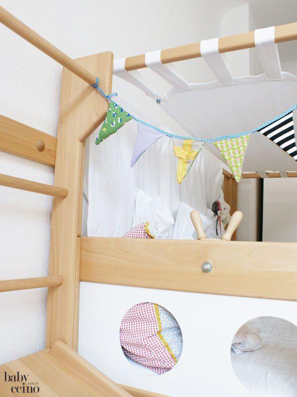 Piratenbett mit sprossenwand und rutschbrett von de breuyn baby und kinderbetten nachhaltig - De breuyn mobel ...