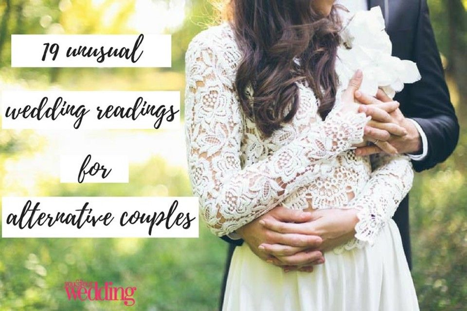 32 modern wedding readings for nontraditional couples